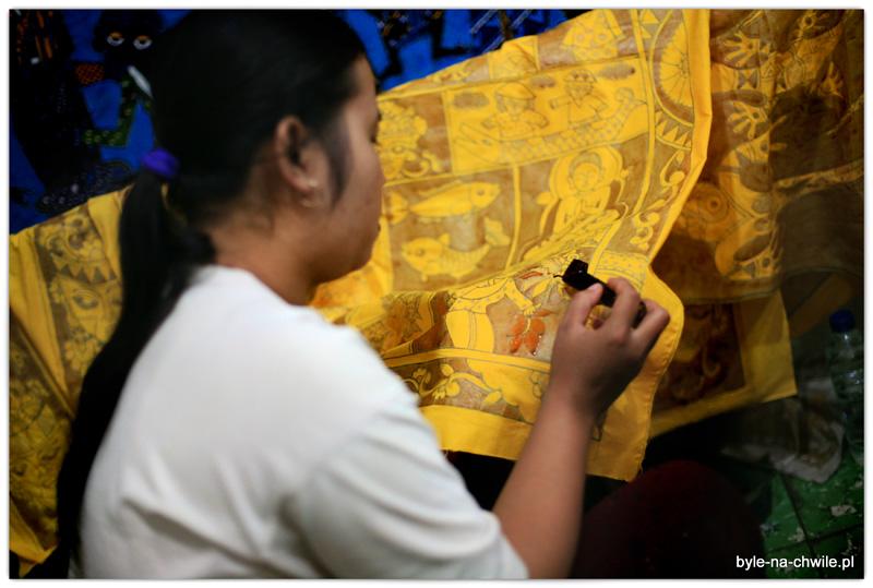 Tak tworzy sie niezwykle cenione rękodzieło jakim jest batik