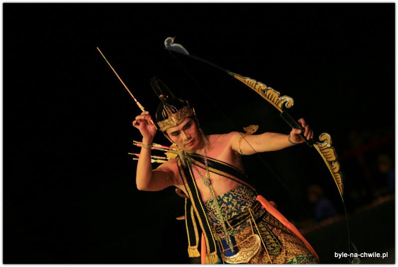 Gra muzyki świateł idźwięków- Świątynia Prambanan