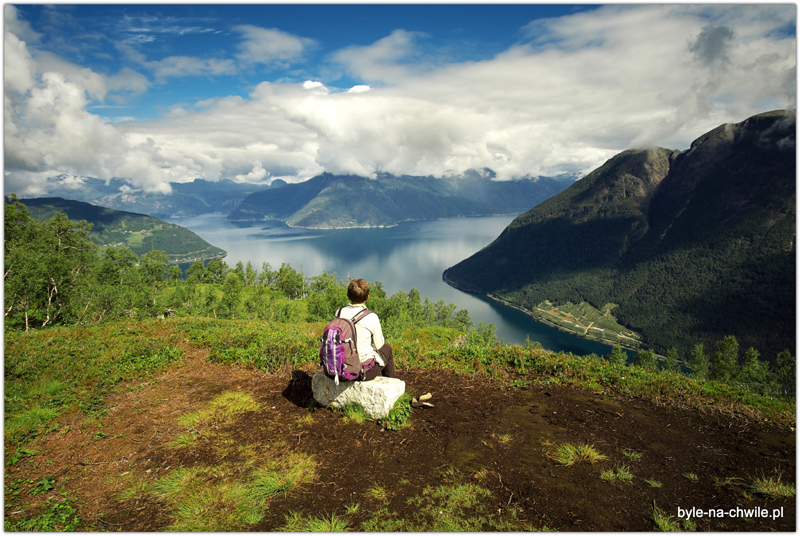 Zasłużony widok po1,5 godzinnym trekkingu.
