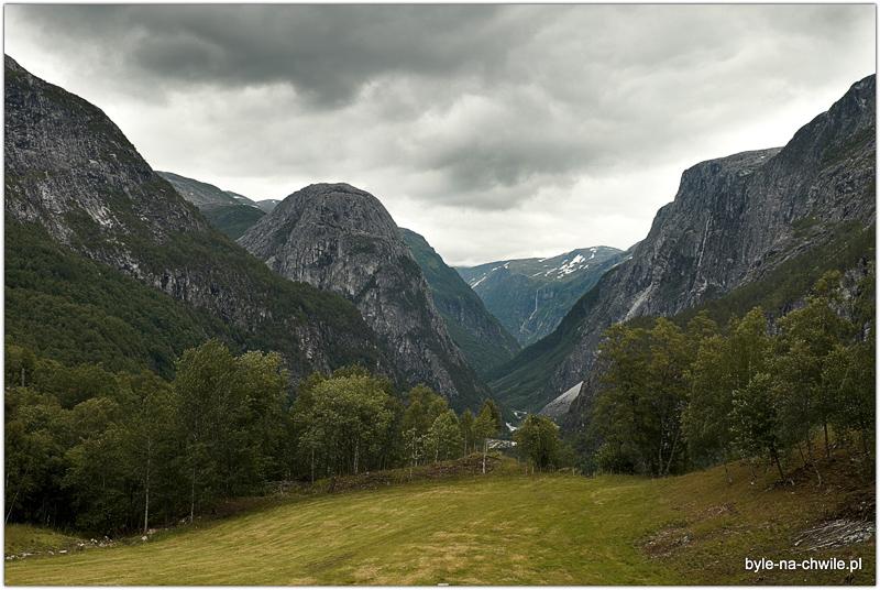 Dolina Stalheim.