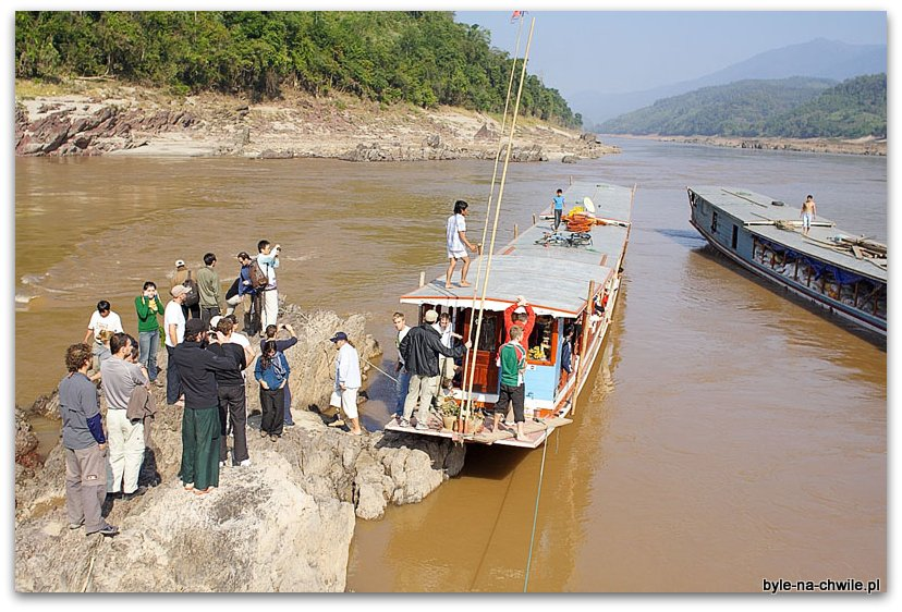 spływ Mekongiem