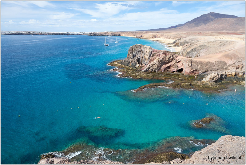 plaże Lanzarote