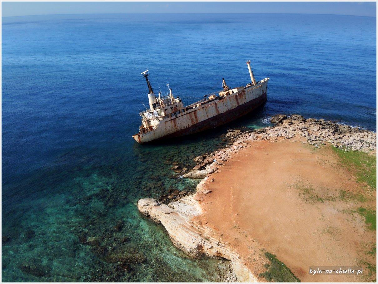 The Edro III Shipwreck wrak statku cypr
