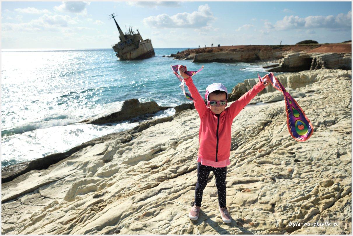 wrak statku cypr
