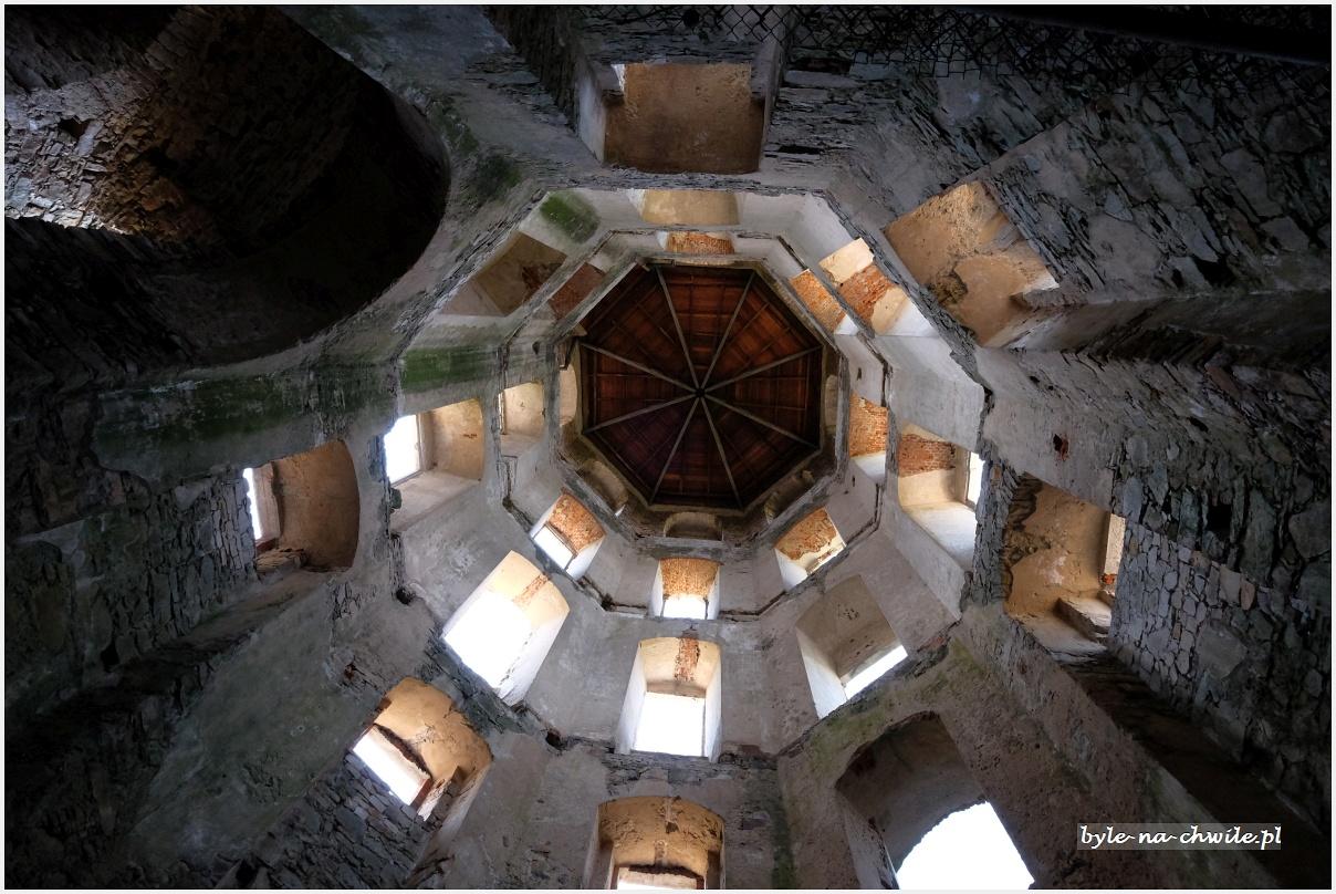 zamek Krzyżtopór wUjeździe