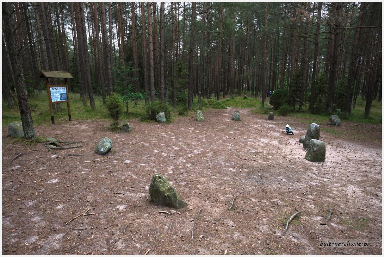 kamienne kręgi Węsiory