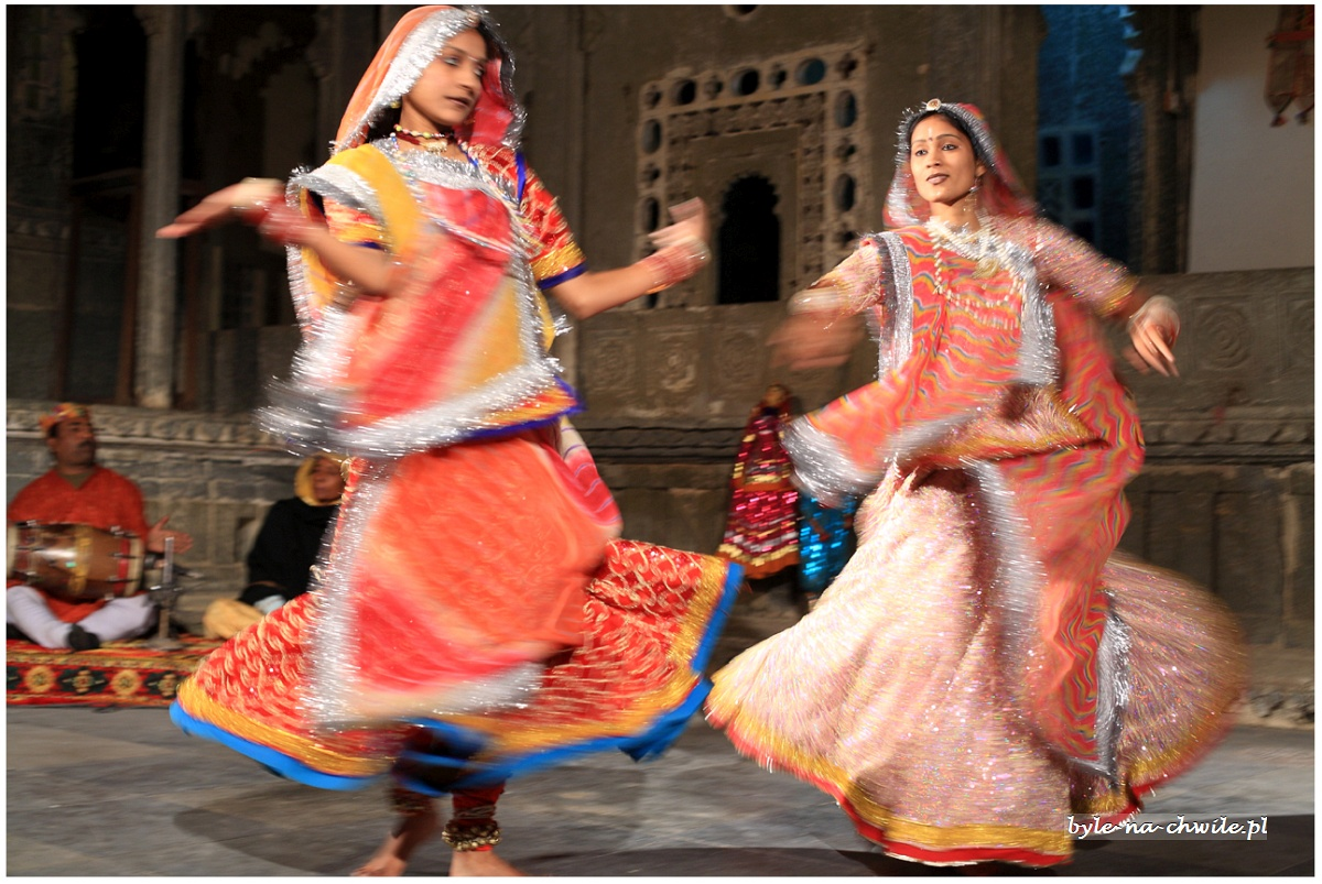 taniec radżputański Udajpur